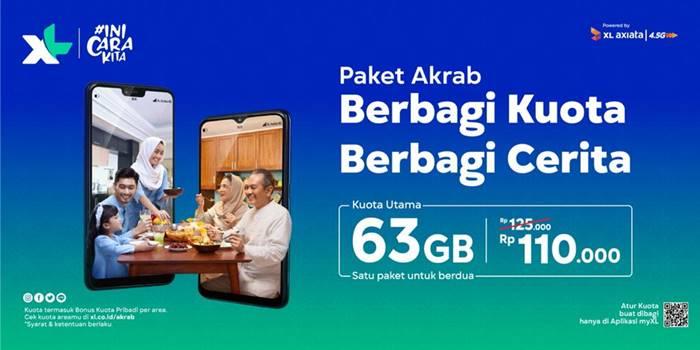 Rekomendasi Paket Internet XL Ramadan dan Lebaran 2021, Ada Promo!