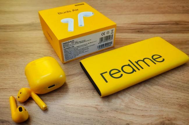 Realme Buds Air Warna kuning