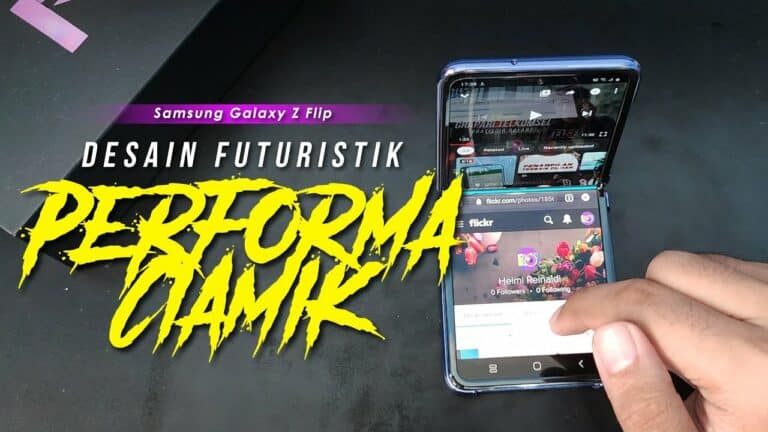 Samsung Galaxy Z Flip Review: Desain Futuristik, Performa Ciamik