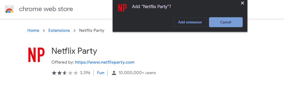 Cara Netflix Party