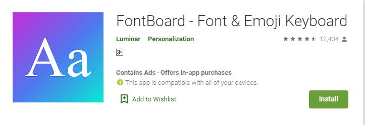Aplikasi Font Android Keren Terbaik