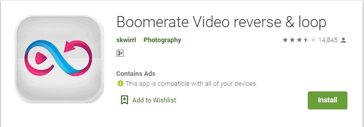 App Boomerang