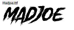 Madjoe Font Keren