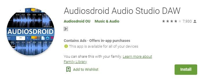 AudiosDroid