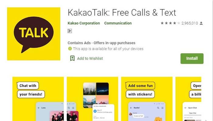kakao talk bisa video call