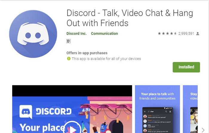 discord bisa talk, dan video chat