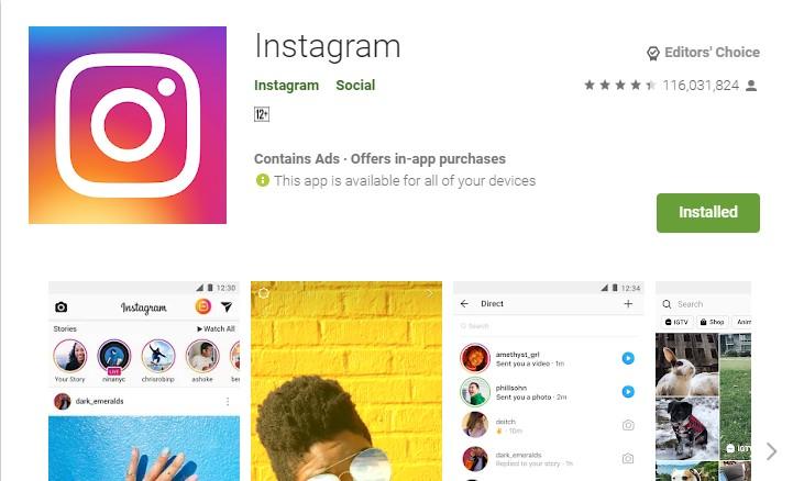 video call dengan instagram