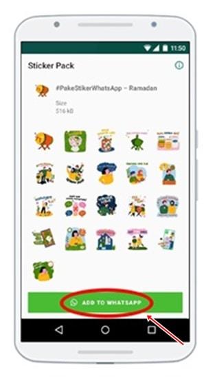 Stiker WhatsApp Ramadan