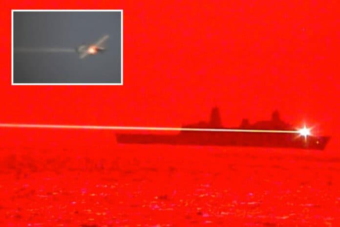 Angkatan Laut AS uji Meriam laser