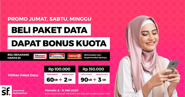 THR Kuota Data Smartfren