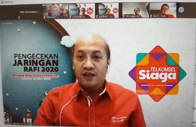 Jaringan Broadband Telkomsel Lebaran