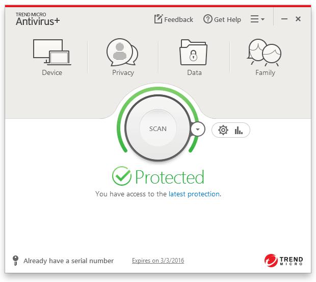 Antivirus Ringan untuk PC Trend Micro Titanium Antivirus