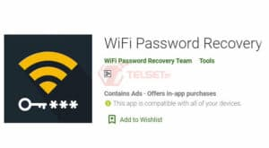 Cara mengetahui Password Wifi smartphone PC - WiFi Password Recovery