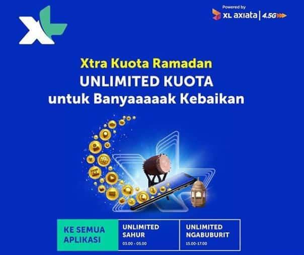 Paket Promo Internet Xl Axiata Selama Ramadan 2020