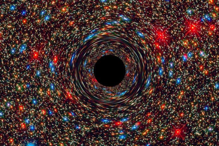 Kenapa Lubang Hitam Galaksi Kita Berkedip?