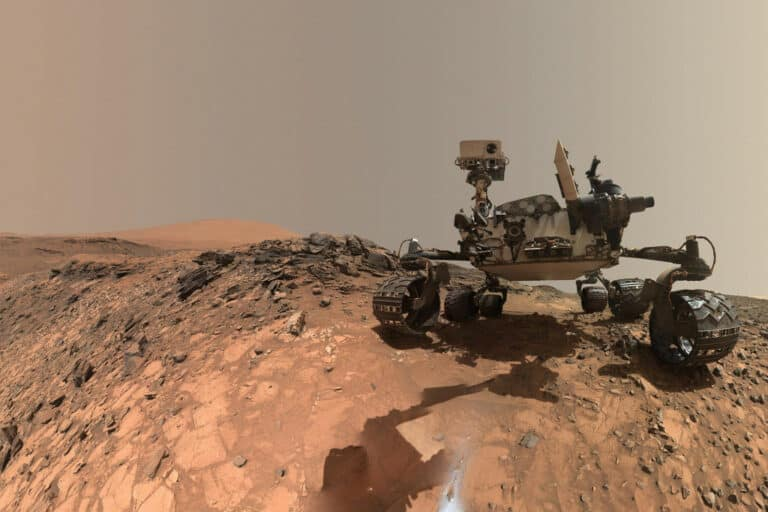 Robot Curiosity NASA Sudah 3.000 Hari Menjelajahi Planet Mars