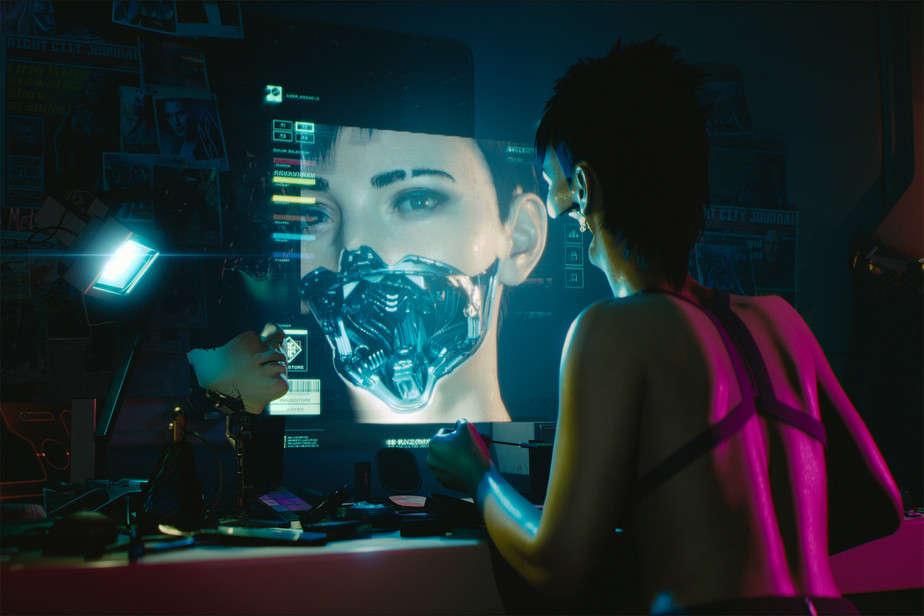 Cyberpunk 2077 Adegan Cabul