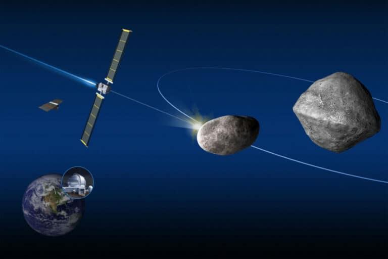 Uji Coba Asteroid NASA Bisa Picu Hujan Meteor di Bumi