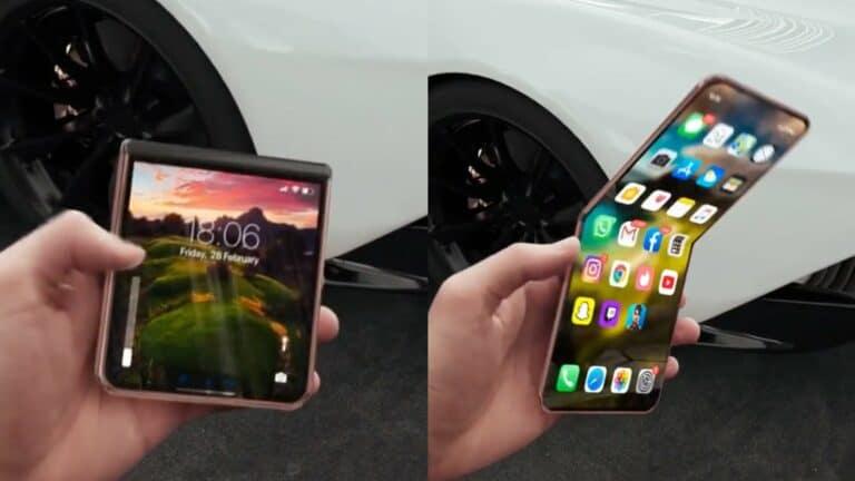 Mirip Galaxy Z Flip, Begini Tampang iPhone Flip (VIDEO)