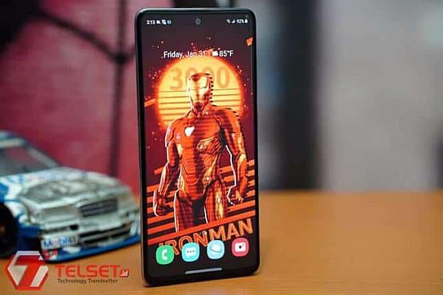 menggunakan nfc Samsung Galaxy A51