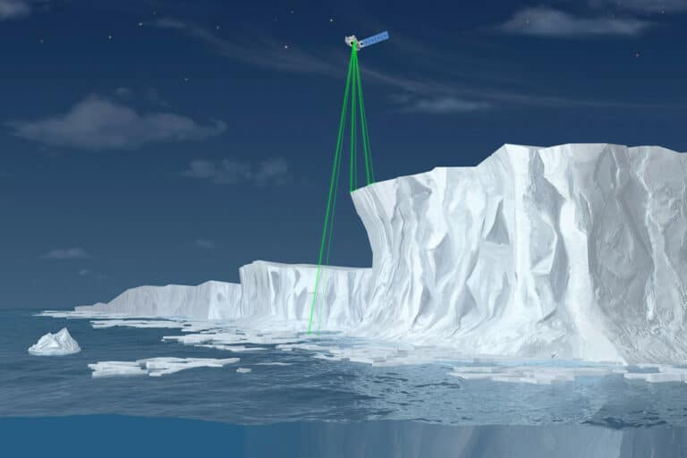 Ngeri! Satelit Ungkap Gambar Ekstrim Pencairan Es Bumi