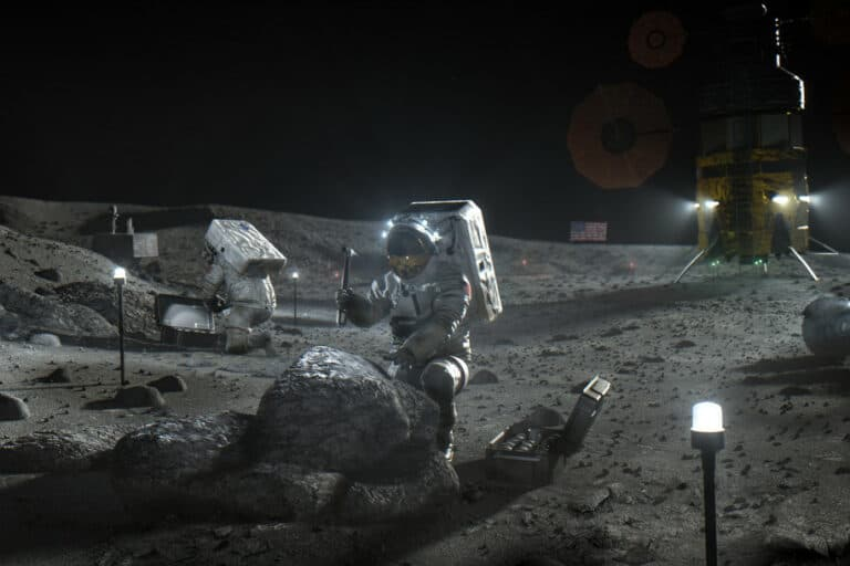 8 Negara Tandatangani Pakta Pimpinan Eksplorasi Bulan