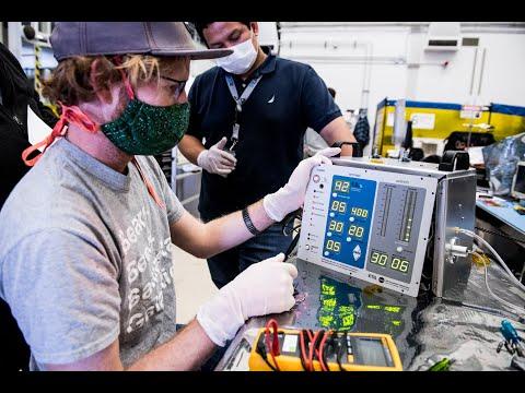 NASA akan Lisensikan Ventilator Buatannya Secara Gratis