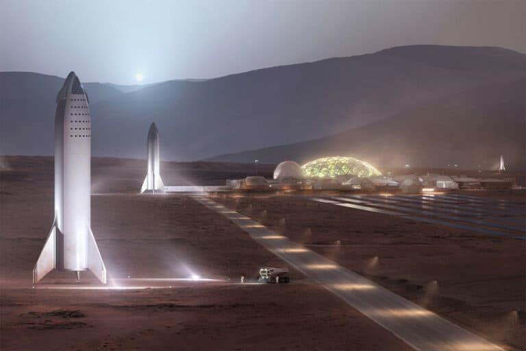 Manusia Harus Mengubah DNA untuk Bisa Tinggal di Mars