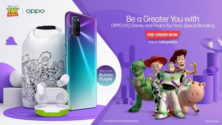 Siap-siap! Oppo A92 Toy Story Edition Bisa Dipesan Mulai Besok