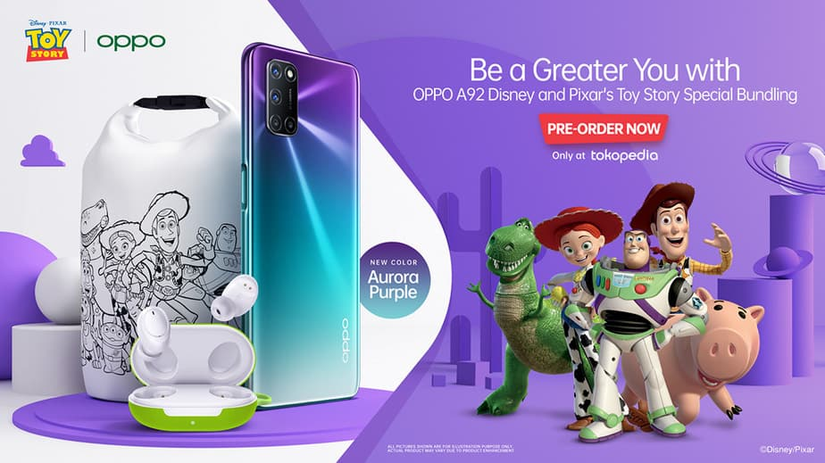 Oppo A92 Toy Story Edition
