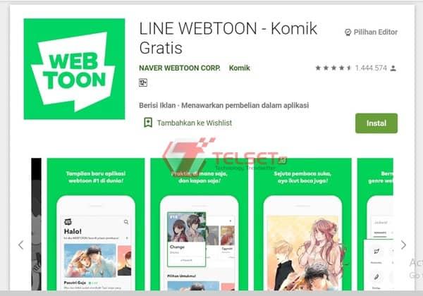 Aplikasi manga Indonesia Terbaik Android
