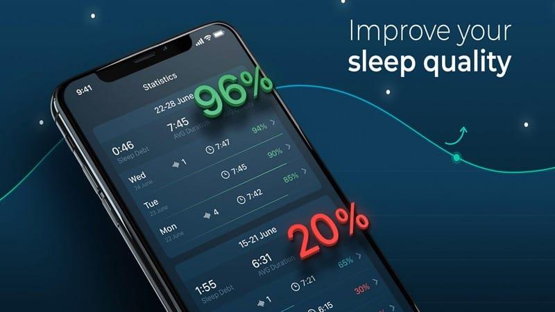 aplikasi sleep tracker Android