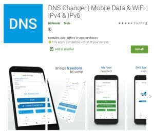 Ping Stabil Game Mobile - DNS Changer