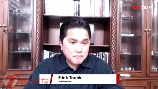 Erick Thohir: Direksi Telkom akan Diisi Generasi Milenial