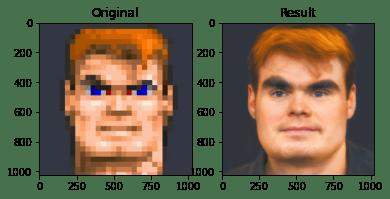 Aplikasi Face Depixelizer