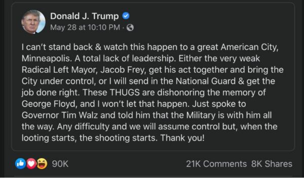 Facebook Twitter Donald Trump