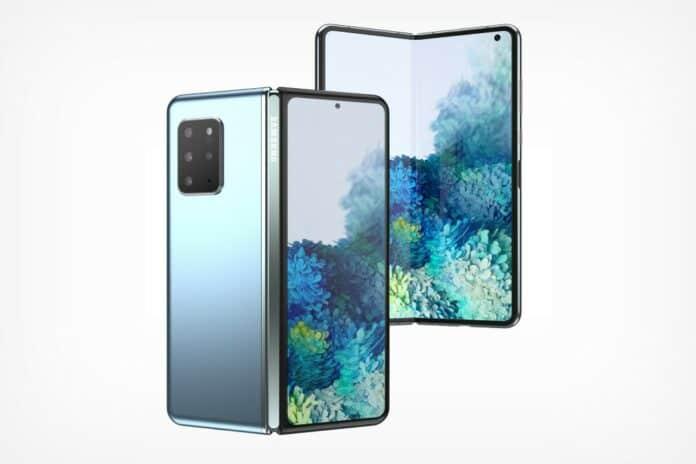 Desain Samsung Galaxy Fold 2