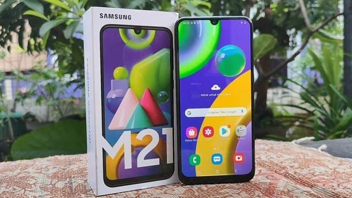 1. Review Samsung Galaxy M21