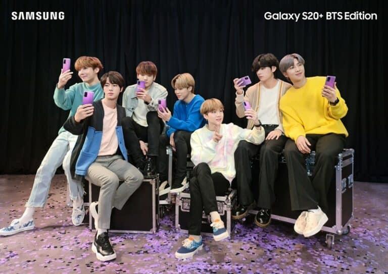 Yeayy! Samsung Galaxy S20+ BTS Edition Resmi Dijual di Indonesia