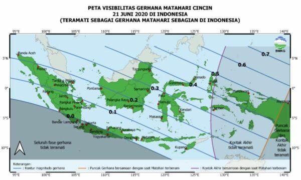 Gerhana Matahari Cincin Indonesia