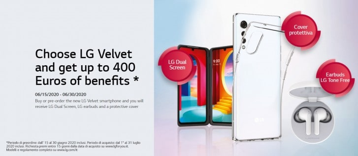 LG Velvet 5G Eropa