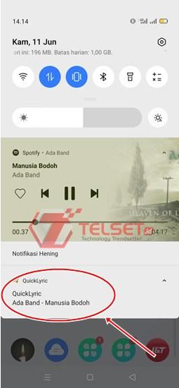 Lirik Spotify