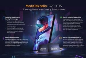 MediaTek Helio G25 G35
