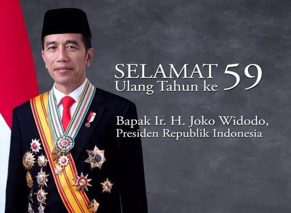 Netizen Ramai Ucapkan Selamat Ulang Tahun ke Presiden Jokowi
