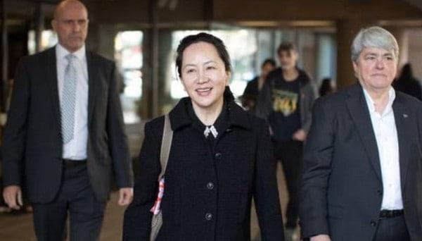 Penangkapan putri bos Huawei
