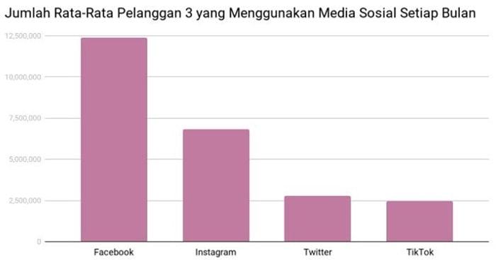 Pengguna Tri Media Sosial
