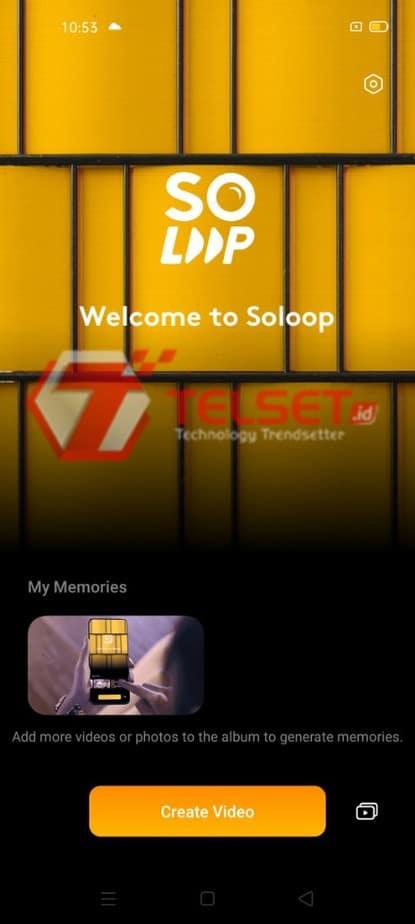 Edit video soloop