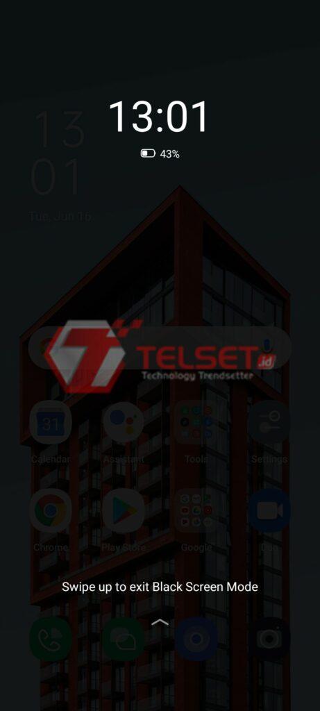 Black Screen Mode ColorOS 7
