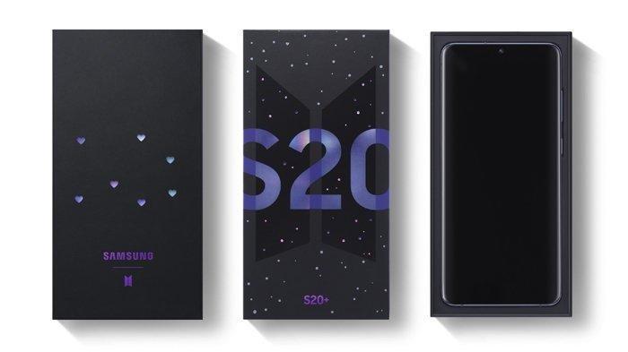 Pre-order Samsung Galaxy S20+ BTS Edition Dibuka, Segini Harganya!