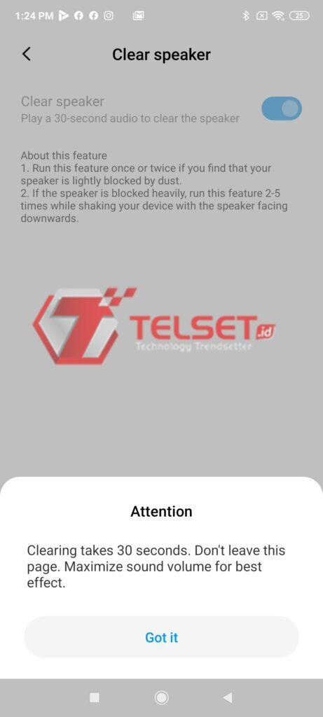 cara membersihkan speaker xiaomi